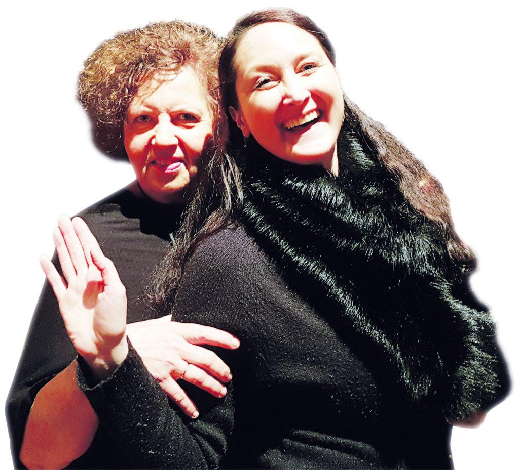 Duo Mezzopiano Grace Messnartz (Pianistin) und Sandra S. Schregle (Mezzo/Sopranistin)