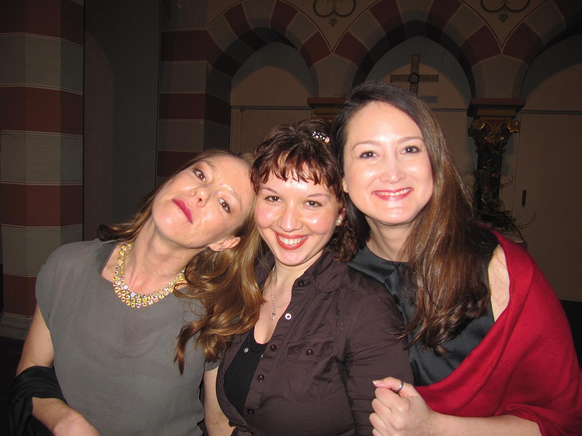 Konzert 2010 zum Thema Frauen mit Sopranistin Yvonne Kluin und Pianistin Polina Stavchanzka