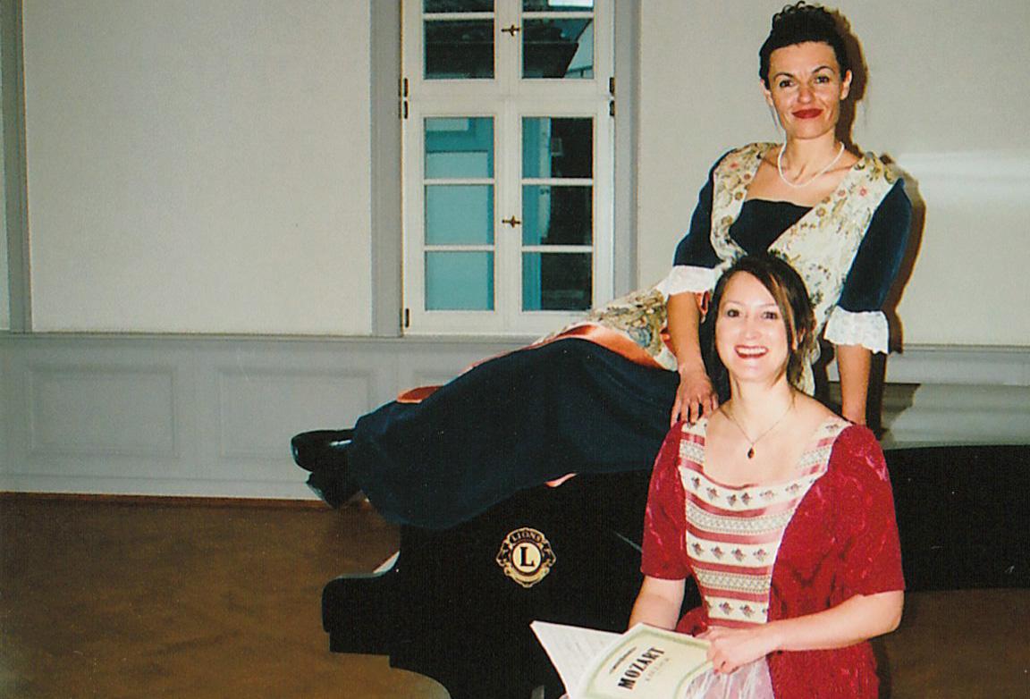 Sandra S. Schregle singt mittelalterliche Arien mit Pianistin Iduna Demmer